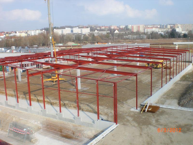 Stahl- & Metallbau Bernd Halfpap GmbH | Referenz | Neubau einer Lagerhalle für die Spedition Starke